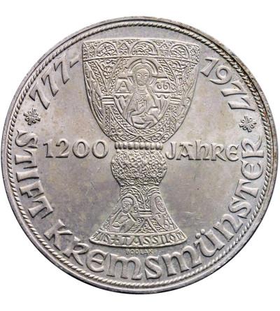 Austria 100 szylingów 1977, 1200 lat opactwa w Kremsmunster