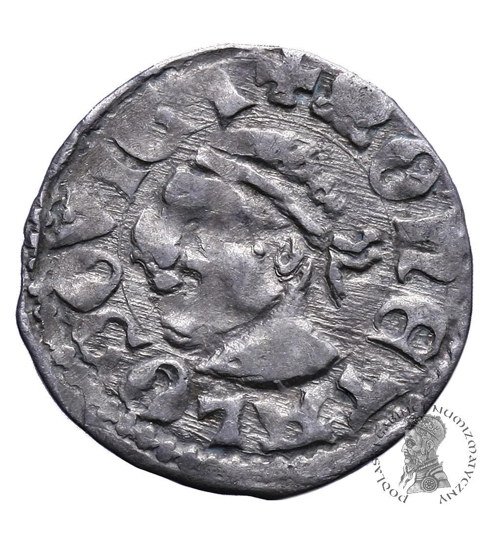Poland / Hungary. Ar Denar ND, Louis I of Anjou 1342 / 1370-1382 AD, as the king of Poland