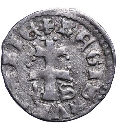 Polska / Węgry. Denar bez daty, Ludwik I Andegaweński 1342 / 1370-1382, jako król Polski