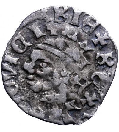 Poland / Hungary. Ar Denar ND, Louis I of Anjou 1342 / 1370-1382 AD