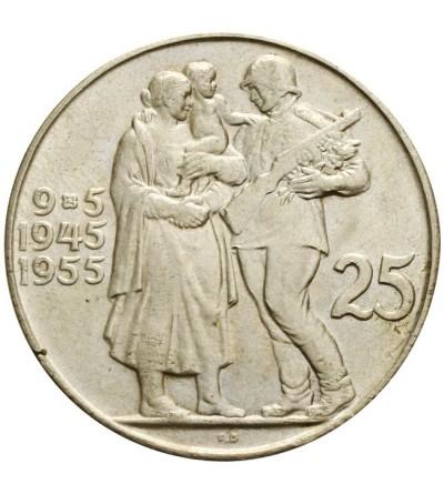 Czechosłowacja 25 koron 1955