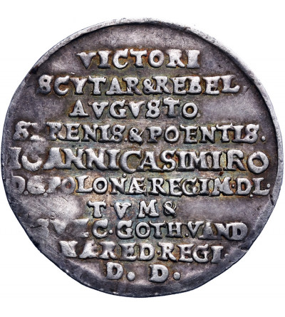 Poland, medal to commemorate the victorious battle of Beresteczek 1651