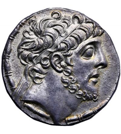 Królestwo Seleucydów. AR Tetradrachma, Antioch ok. 110-109 r. p.n.e., Antiochos IX Kyzikenos 113-95 p.n.e.