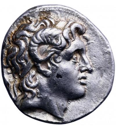 Tracja. AR Tetradrachma (Smyrna ok. 287/6-282/1 r. p.n.e), Lizymach 323-281 r. p.n.e.