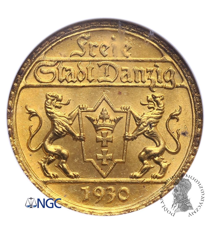 Wolne Miasto Gdańsk 25 guldenów 1930 - NGC MS 65