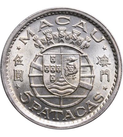 Makao 5 Patacas 1952