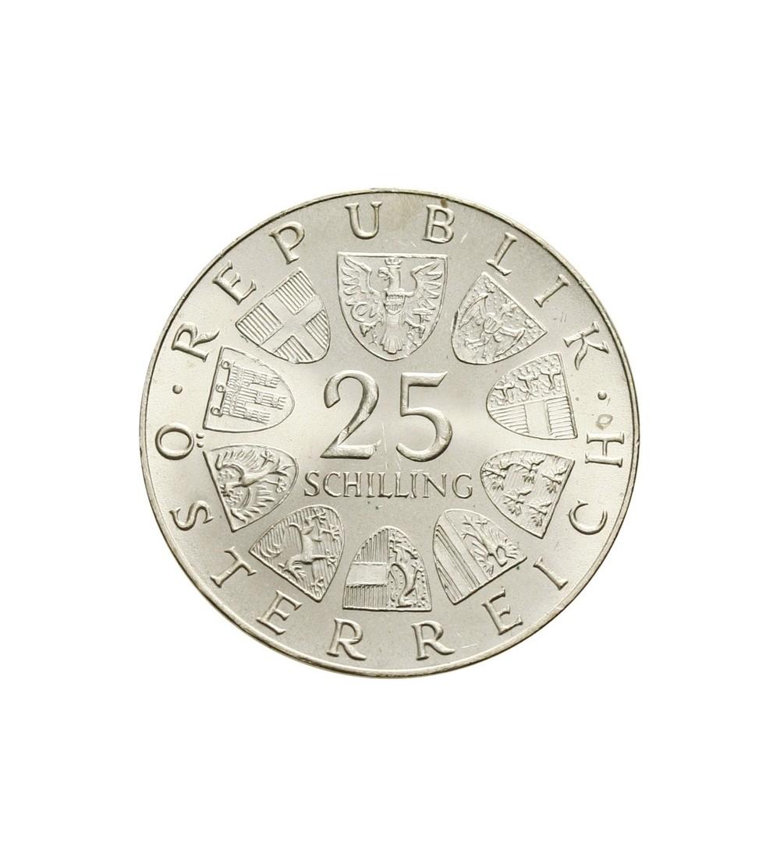 Austria 25 szylingów 1973