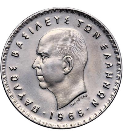 Grecja 10 drachm 1965 - Proof