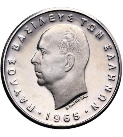 Grecja 5 drachm 1965 - Proof