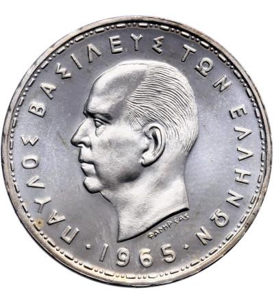 Grecja 20 drachm 1965 - Proof