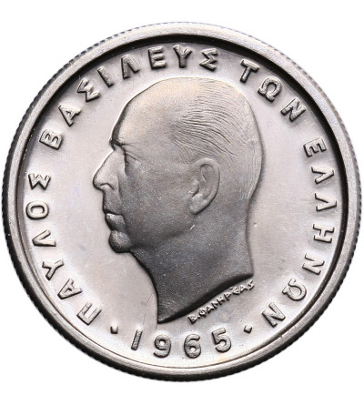 Greece 1 Drachma 1965 - Proof