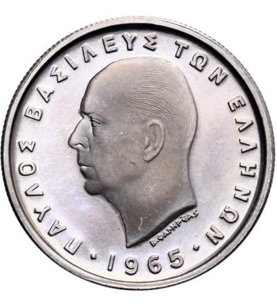 Grecja 2 drachmy 1965 - Proof