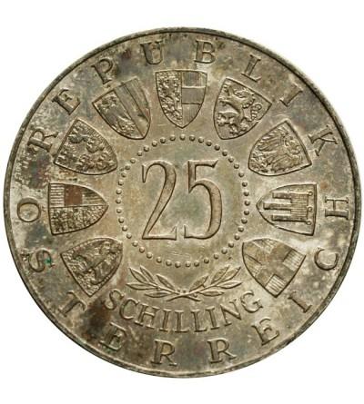 Austria 25 szylingów 1957