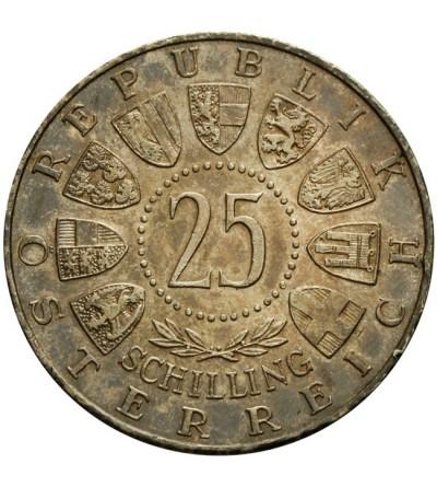 Austria 25 szylingów 1956