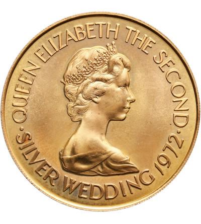 Jersey 50 funtów 1972, Srebrne Gody Elżbiety II