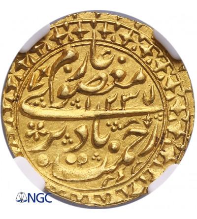 Bukhara AV Tilla AH 1235 / 1821 AD - NGC MS 63