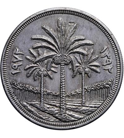 Irak 1 Dinar 1972, 25 lat Banku Centralnego