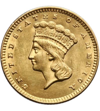 USA 1 dolar 1856, Indian Head