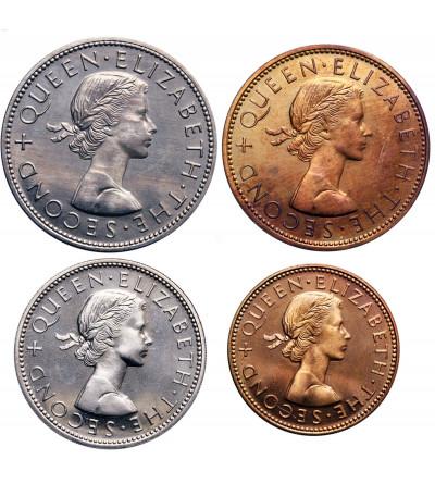 Nowa Zelandia 1/2 Penny, 1 Penny, 1 Florin, 1/2 korony 1965 - Proof (Prooflike)