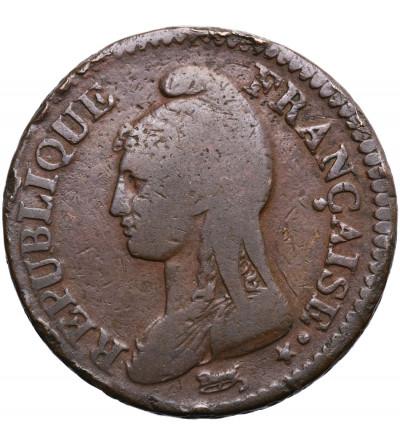 Francja Decime LAN 5 (1796-1797) BB, Strasbourg