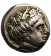 Greece. Lesbos, Mytilene. Electrum Hekte Circa 377-326 BC