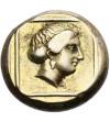 Grecja. Lesbos, Mitylena. Elektron Hekte 377-326 r. p.n.e.