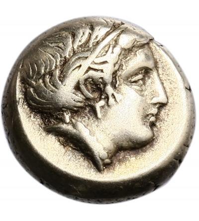 Greece. Lesbos, Mytilene. Electrum Hekte Circa 412-378 BC