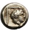 Grecja. Lesbos, Mitylena. Elektron Hekte 412-378 r. p.n.e.
