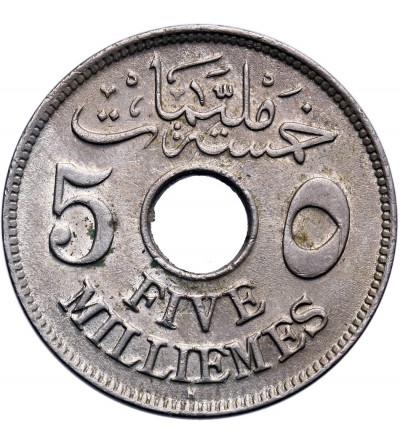 Egipt 5 Milliemes AH 1335 / 1917 AD, H