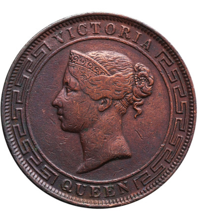 Ceylon 5 Cents 1870