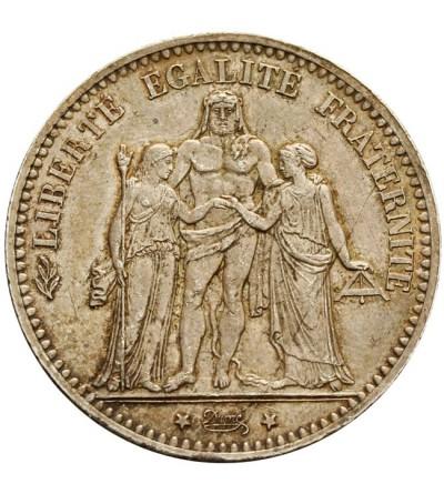 Francja 5 franków 1875 A
