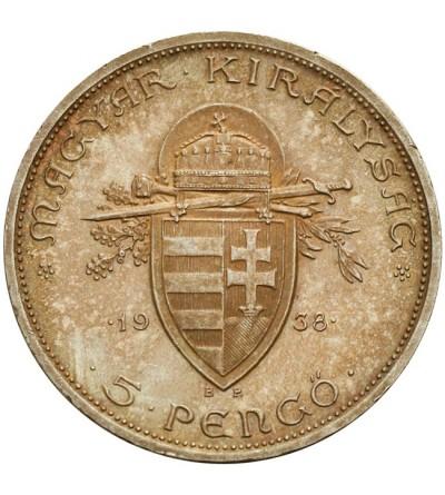 Węgry 5 pengo1938