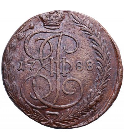 Rosja 5 kopiejek 1788 EM, Jekaterinburg