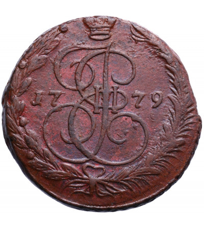 Rosja 5 kopiejek 1779 EM, Jekaterinburg