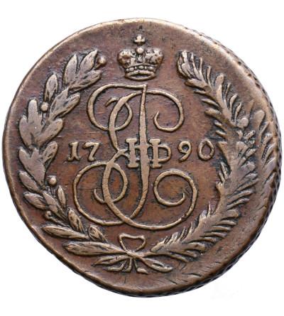 Rosja 2 kopiejki 1790 EM, Jekaterinburg