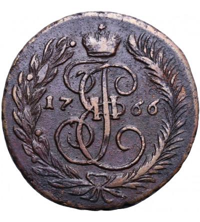 Rosja 2 kopiejki 1766 MM, Moskwa (Krasnyj Dvor)