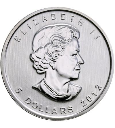 Kanada 5 dolarów 2012 - puma (platerowana złotem)