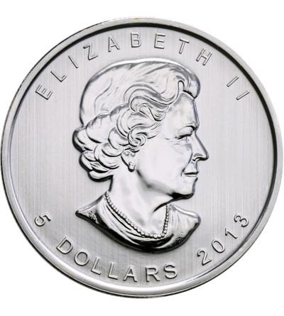 Kanada 5 dolarów 2013, bizon (platerowany złotem)
