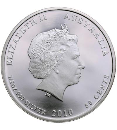 Australia 50 centów 2010 P, murena (multikolor) Proof (1/2 Oz Ag)