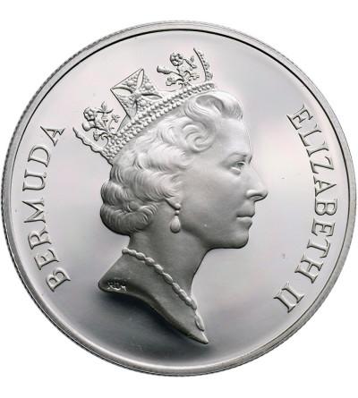 Bermudy 2 dolary 1993, humbak - Proof