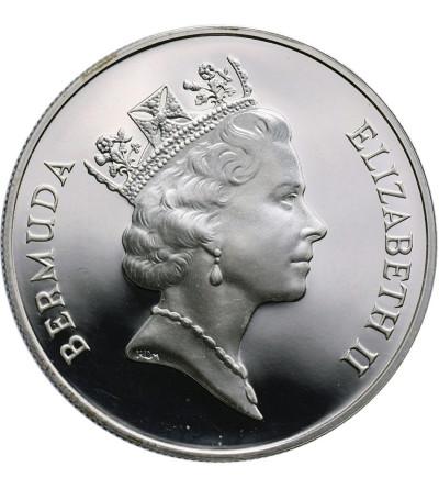 Bermudy 2 dolary 1994, konik morski - Proof