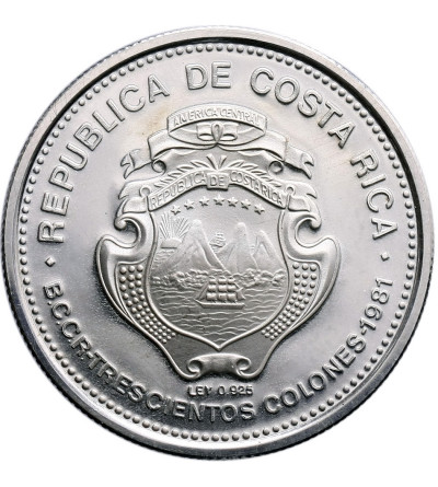 Kostaryka 300 Colones 1981, Juan Santamaria