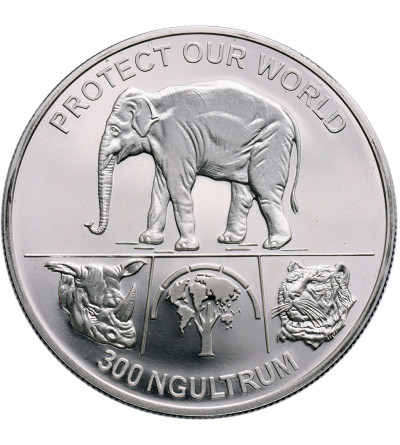 Bhutan 300 Ngultrums 1993 - Proof