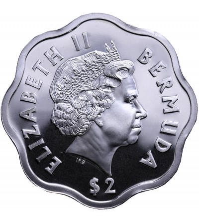Bermudy 2 dolary 1999-2000, Millenium