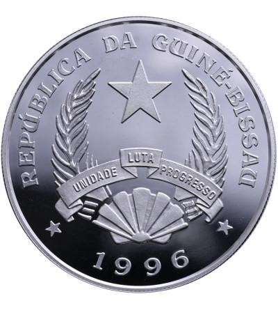 Gwinea Bissau 50000 Pesos 1996, hipopotamy
