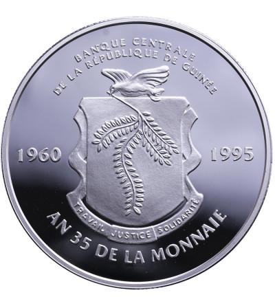 Gwinea 20000 franków 1995, 35 lat monety Frank w Gwinei - Proof