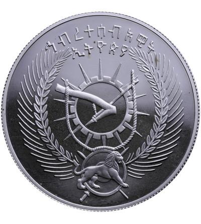 Etiopia 10 Birr EE 1970 (1977-78), orłosęp