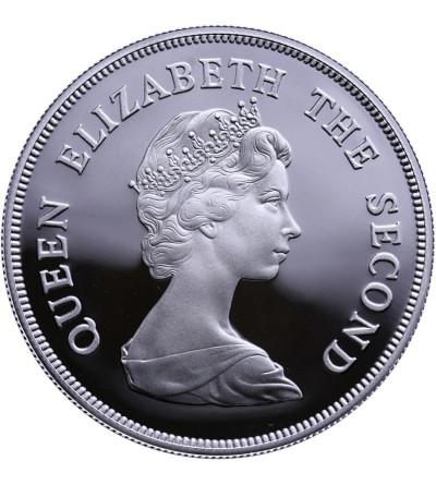 Falklandy 10 funtów 1979, kaczki - Proof