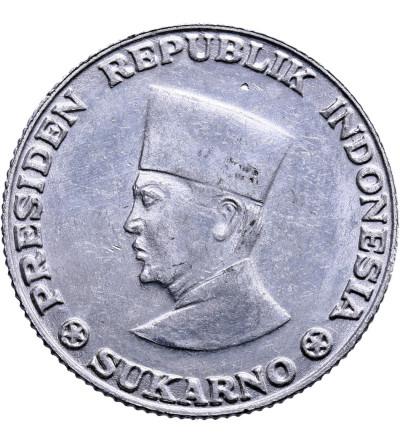 Indonezja 25 Sen 1962, Irian Barat - obrzeże ząbkowane