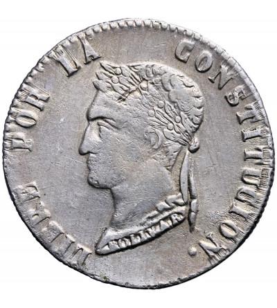 Boliwia 4 Soles 1854 PAZ F.